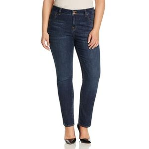 Lucky Brand Blue Plus Emma Straight Jeans 20W